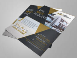 Property Investments Professional Flyer Design In Cape Town