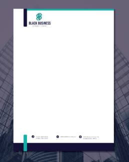 Black Business Solidarity Scheme Letterhead Uai