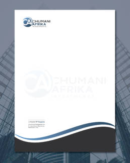 Chumaniafrika Investments Letterhead Uai